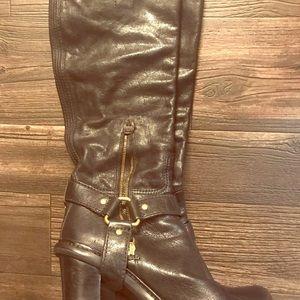 Prada knee high boots size 8